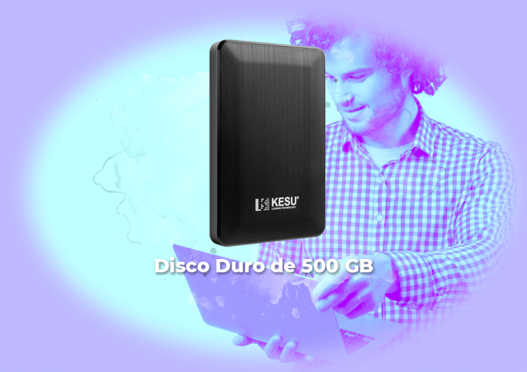 Sorteo disco duro 500GB