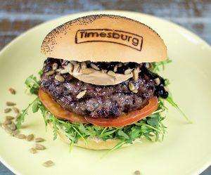 Hamburguesa La Foie del restaurante TimesBurg