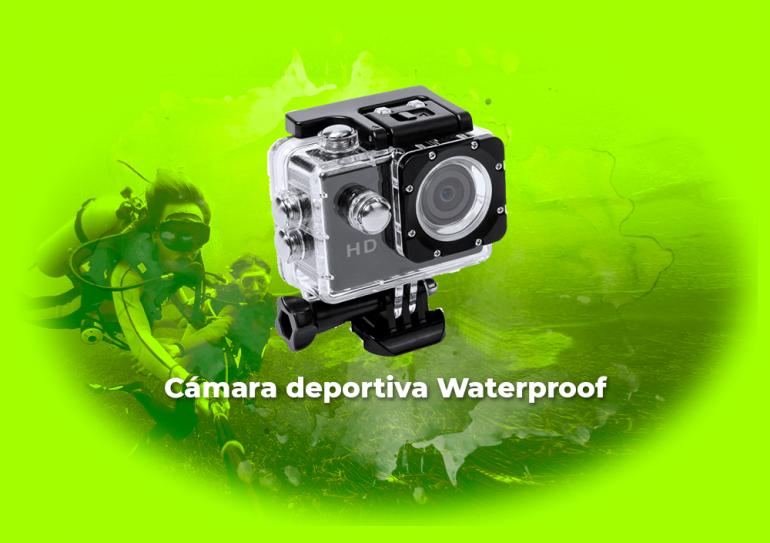 Sorteo Cámara deportiva Waterproof