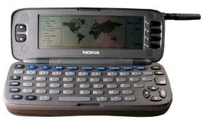 Nokia 9000 Communicator perteneciente a la historia tecnológica
