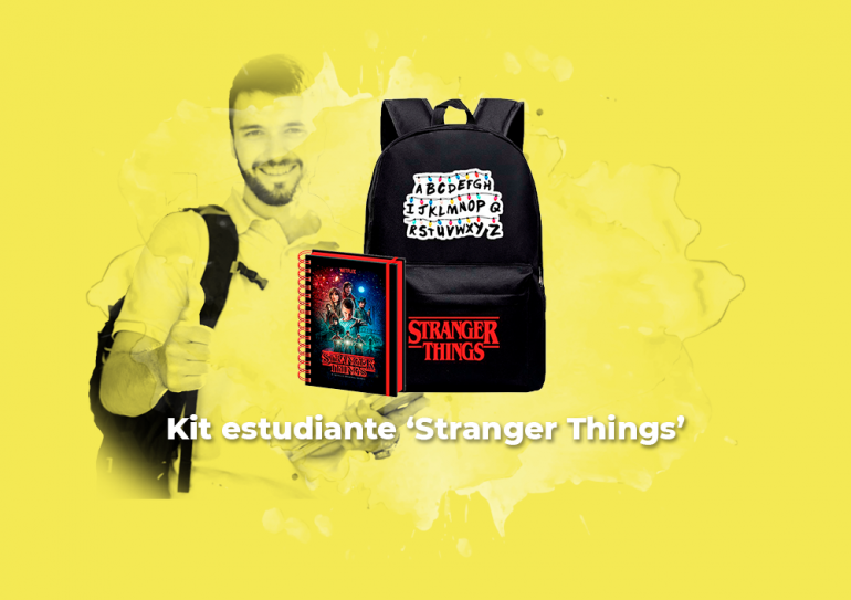 Sorteo Kit estudiante 'Stranger Things'