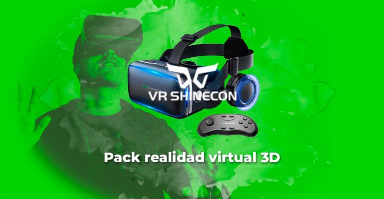 Sorteo Gafas realidad virtual 3D