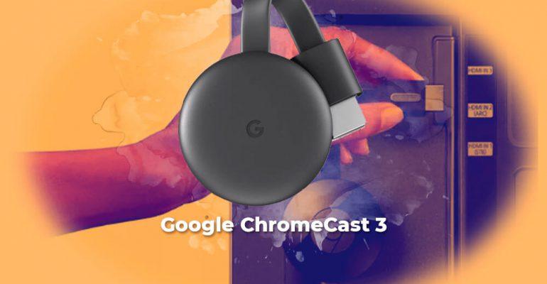 Sorteo Google ChromeCast 3