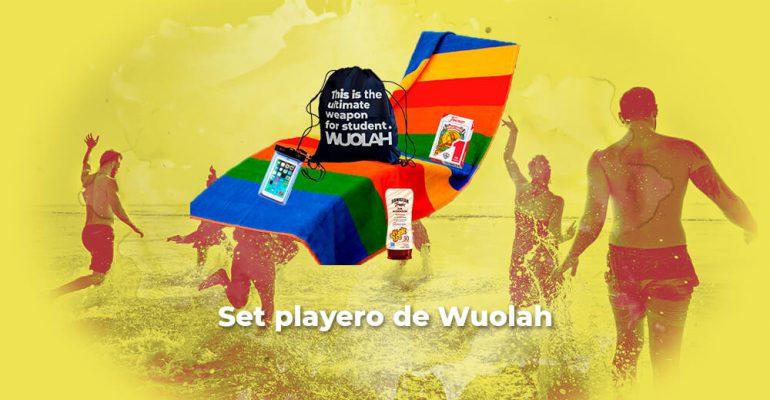 Sorteo set playero de Wuolah