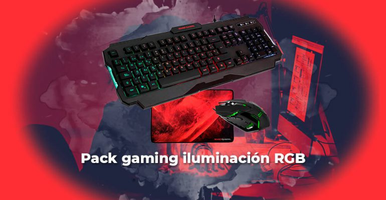 Sorteo Pack gaming iluminación RGB