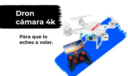 Sorteo Dron desplegable con cámara 4K