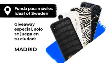 Sorteo Funda de lujo para móviles Ideal Of Sweden