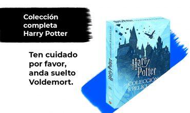 Sorteo Colección Completa Harry Potter DVD