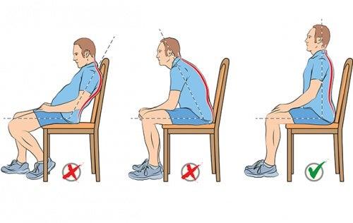 Cómo sentarse bien