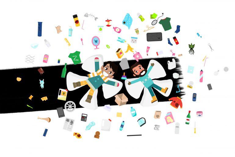 Organizarte con tus compañeros de piso para limpiar